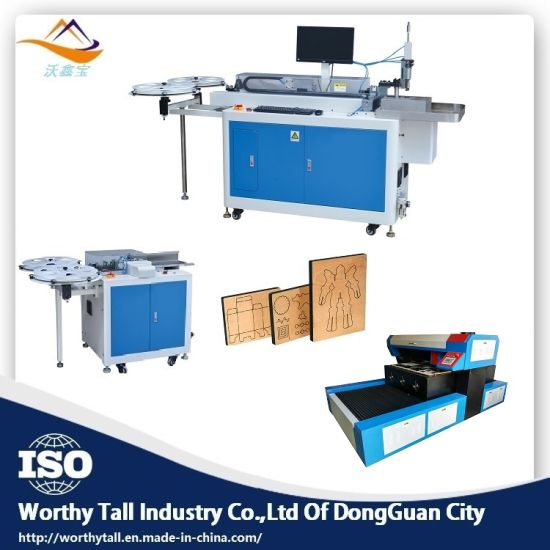 2018 Die Board Board Laser Cutting Machine Auto Bender Machine
